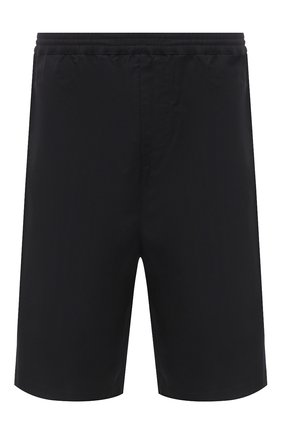 Мужские хлопковые шорты AMBUSH черного цвета, арт. BMCB002S21FAB001 | Фото 1
