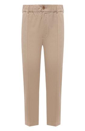 Мужские хлопковые брюки AMBUSH бежевого цвета, арт. BMCA017S21FAB001 | Фото 1
