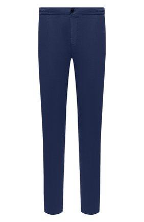 Мужские льняные брюки MARCO PESCAROLO синего цвета, арт. CHIAIA/4306 | Фото 1
