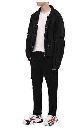 Мужские кожаные кроссовки daymaster DOLCE & GABBANA белого цвета, арт. CS1791/A0233 | Фото 2