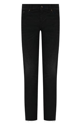 Мужские джинсы SAINT LAURENT черного цвета, арт. 649132/Y08AG | Фото 1