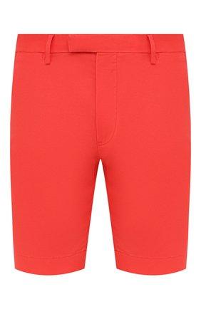 Мужские хлопковые шорты  POLO RALPH LAUREN красного цвета, арт. 710646709 | Фото 1