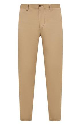 Мужские хлопковые брюки CORNELIANI бежевого цвета, арт. 874L00-1114504/00 | Фото 1