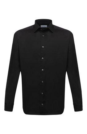 Мужская хлопковая сорочка ETON черного цвета, арт. 3000 79512 | Фото 1