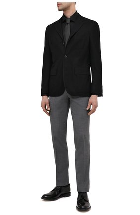 Мужская хлопковая сорочка ETON черного цвета, арт. 3000 79512 | Фото 2