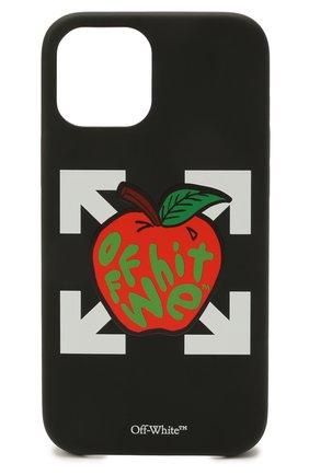 Чехол для iphone 12 pro max OFF-WHITE черного цвета, арт. 0MPA027S21PLA005/W | Фото 1