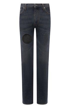 Мужские джинсы OFF-WHITE синего цвета, арт. 0MYA107S21DEN003 | Фото 1
