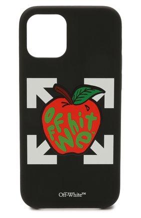 Чехол для iphone 12/12 pro OFF-WHITE черного цвета, арт. 0MPA026S21PLA005 | Фото 1