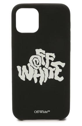 Чехол для iphone 12/12 pro OFF-WHITE черно-белого цвета, арт. 0MPA026S21PLA004 | Фото 1