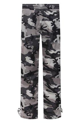 Мужские брюки OFF-WHITE серого цвета, арт. 0MCJ008S21FAB001 | Фото 1