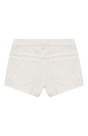 Детские джинсовые шорты FENDI белого цвета, арт. JFF224/AEX0/3A-6A | Фото 2
