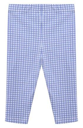 Детские хлопковые леггинсы POLO RALPH LAUREN синего цвета, арт. 310833609 | Фото 2