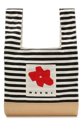 Детская сумка MARNI темно-синего цвета, арт. M00171-M00HQ | Фото 1