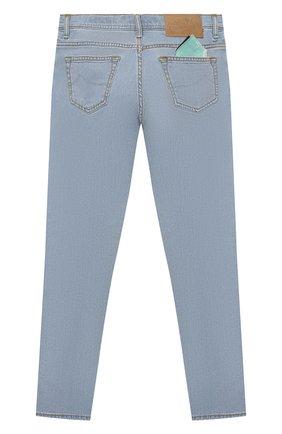 Детские джинсы JACOB COHEN синего цвета, арт. D1011 T-03006-W7   Фото 2
