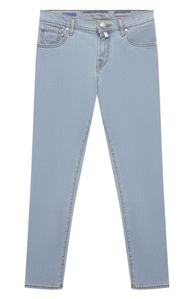 Детские джинсы JACOB COHEN синего цвета, арт. D1011 J-03006-W7   Фото 1