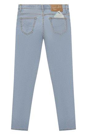 Детские джинсы JACOB COHEN синего цвета, арт. D1011 J-03006-W7   Фото 2