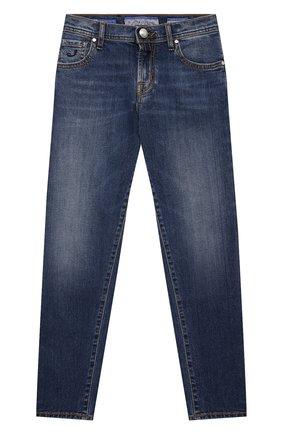 Детские джинсы JACOB COHEN голубого цвета, арт. D1011 J-03006-W5   Фото 1