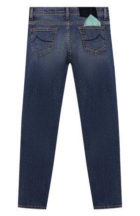 Детские джинсы JACOB COHEN голубого цвета, арт. D1011 J-03006-W5   Фото 2