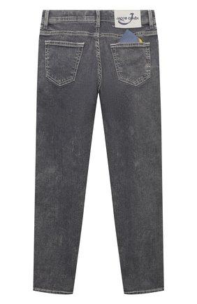 Детские джинсы JACOB COHEN серого цвета, арт. D1011 J-03002-W4   Фото 2