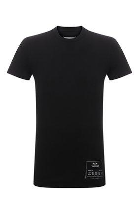 Мужская хлопковая футболка MAISON MARGIELA черного цвета, арт. S50GC0644/S23911 | Фото 1