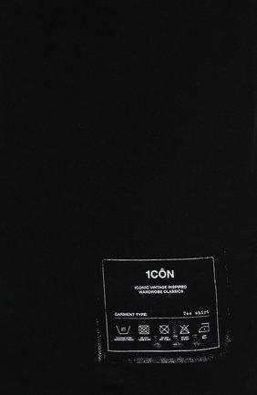 Мужская хлопковая футболка MAISON MARGIELA черного цвета, арт. S50GC0644/S23911   Фото 5 (Рукава: Короткие; Длина (для топов): Стандартные; Стили: Гранж; Принт: С принтом; Материал внешний: Хлопок)