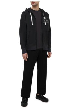 Мужской хлопковая толстовка MAISON MARGIELA темно-серого цвета, арт. S50HG0036/S25508 | Фото 2