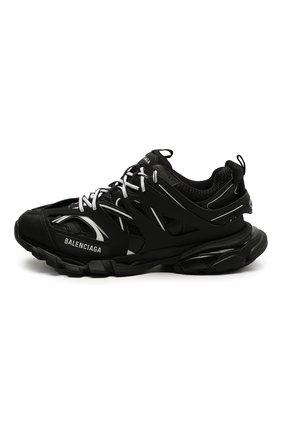 Мужские комбинированные кроссовки track BALENCIAGA черно-белого цвета, арт. 542023/W3AC1   Фото 3 (Материал внешний: Текстиль; Стили: Гранж; Материал внутренний: Текстиль; Подошва: Массивная)