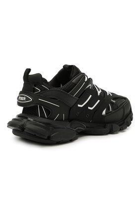 Мужские комбинированные кроссовки track BALENCIAGA черно-белого цвета, арт. 542023/W3AC1   Фото 4 (Материал внешний: Текстиль; Стили: Гранж; Материал внутренний: Текстиль; Подошва: Массивная)