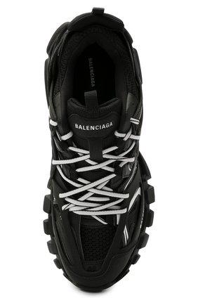 Мужские комбинированные кроссовки track BALENCIAGA черно-белого цвета, арт. 542023/W3AC1   Фото 5 (Материал внешний: Текстиль; Стили: Гранж; Материал внутренний: Текстиль; Подошва: Массивная)
