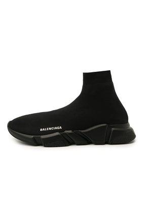Мужские текстильные кроссовки speed BALENCIAGA черного цвета, арт. 645056/W2DBP   Фото 3 (Материал внешний: Текстиль; Стили: Гранж; Материал внутренний: Текстиль; Подошва: Массивная)