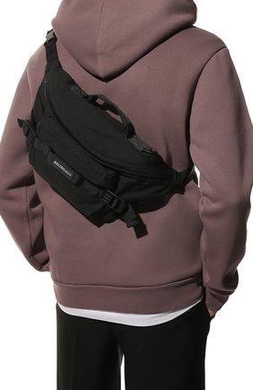 Текстильная поясная сумка Army | Фото №2