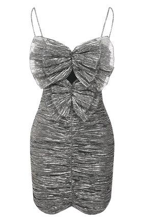 Женское платье ISABEL MARANT серебряного цвета, арт. R01995-21E031I/TIKYNA | Фото 1