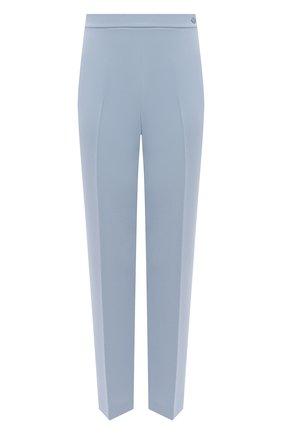 Женские брюки RALPH LAUREN светло-голубого цвета, арт. 290840152 | Фото 1
