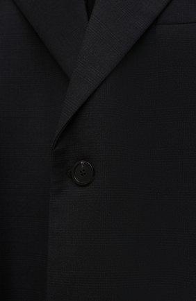 Женское шерстяное пальто BALENCIAGA черного цвета, арт. 658924/TKT08   Фото 5