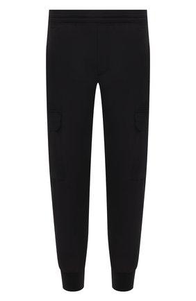 Мужские джоггеры NEIL BARRETT черного цвета, арт. PBPA834/Q010 | Фото 1