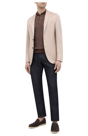 Мужской пиджак CORNELIANI бежевого цвета, арт. 87X576-1114503/90 | Фото 2