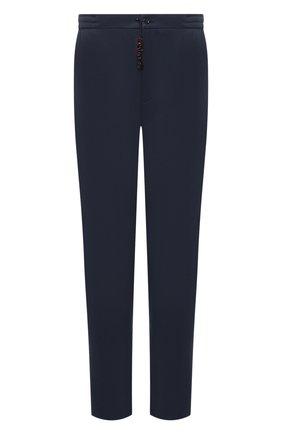Мужские брюки MARCO PESCAROLO синего цвета, арт. CHIAIAM/4305 | Фото 1 (Длина (брюки, джинсы): Стандартные; Материал внешний: Хлопок, Лиоцелл; Случай: Повседневный; Стили: Кэжуэл; Big sizes: Big Sizes; Силуэт М (брюки): Чиносы)
