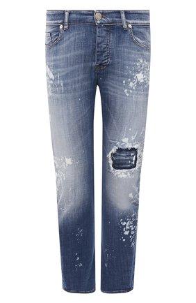 Мужские джинсы PREMIUM MOOD DENIM SUPERIOR синего цвета, арт. S21 0352740030/BARRET   Фото 1