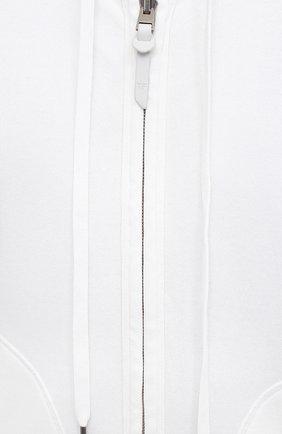 Мужской хлопковая толстовка TOM FORD белого цвета, арт. BW265/TFJ986   Фото 5