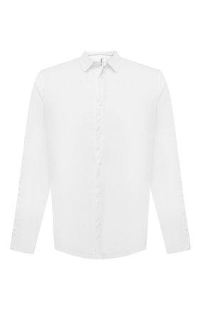 Мужская хлопковая рубашка TRANSIT белого цвета, арт. CFUTRNU300 | Фото 1