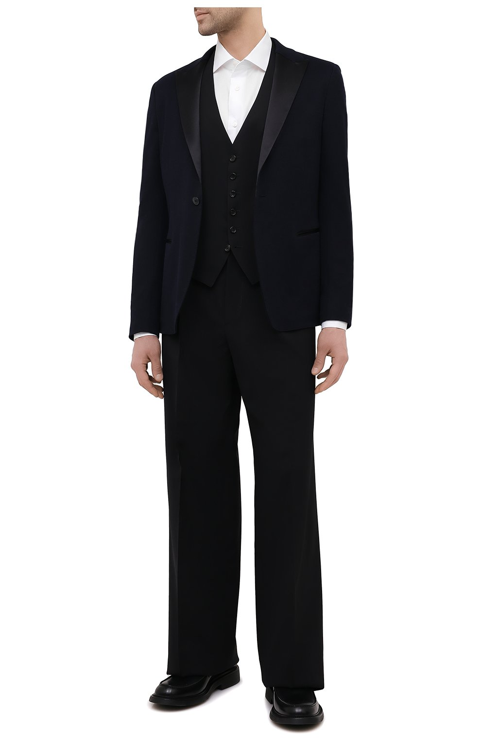Мужская хлопковая сорочка BRIONI белого цвета, арт. RCH10N/P004L | Фото 2