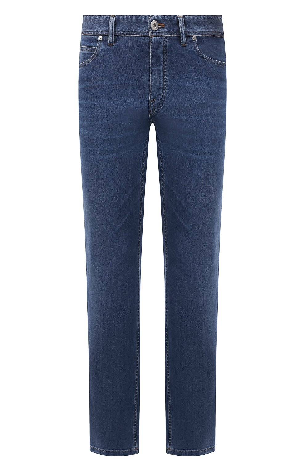 Мужские джинсы BRIONI синего цвета, арт. SPPA0M/P0D06/STELVI0   Фото 1
