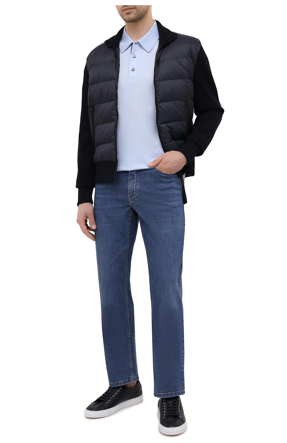 Мужские джинсы BRIONI синего цвета, арт. SPPA0M/P0D06/STELVI0   Фото 2