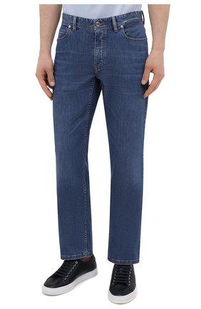 Мужские джинсы BRIONI синего цвета, арт. SPPA0M/P0D06/STELVI0   Фото 3