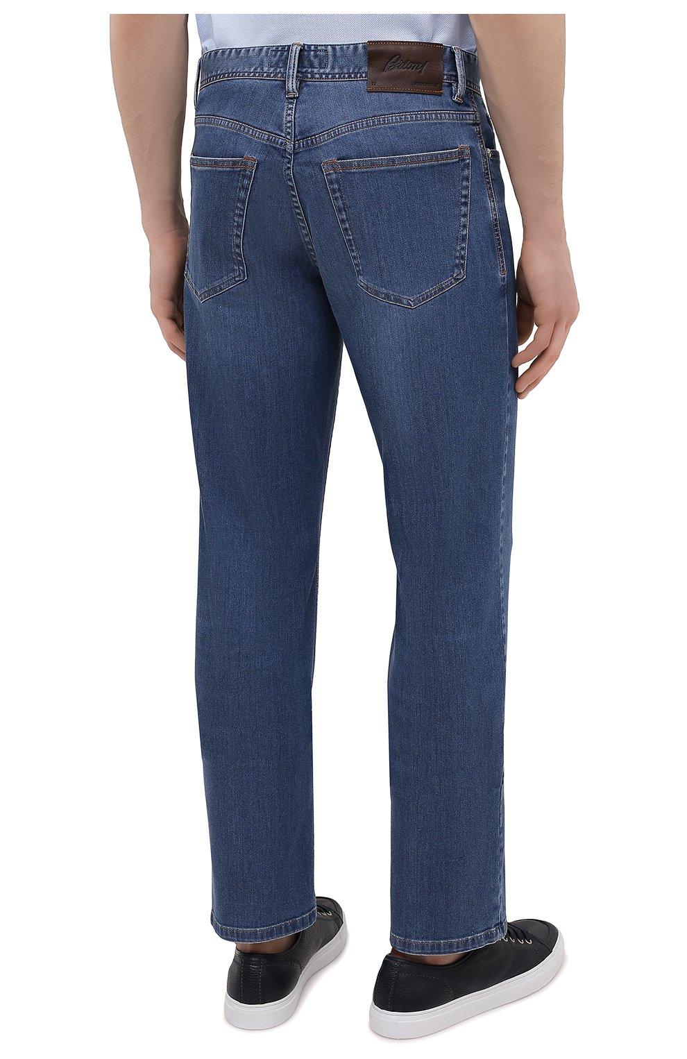 Мужские джинсы BRIONI синего цвета, арт. SPPA0M/P0D06/STELVI0   Фото 4