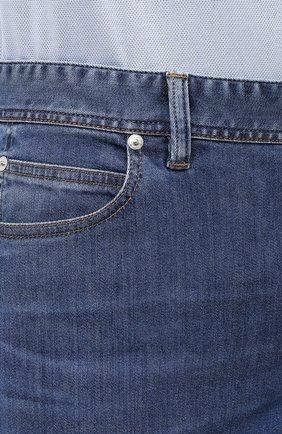 Мужские джинсы BRIONI синего цвета, арт. SPPA0M/P0D06/STELVI0   Фото 5
