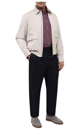 Мужская хлопковая рубашка PAUL&SHARK красного цвета, арт. 21413432/C00/48-50 | Фото 2
