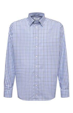 Мужская хлопковая рубашка ETON синего цвета, арт. 1000 02229 | Фото 1