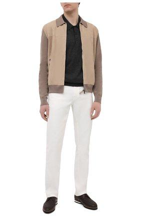 Мужские кожаные дерби ZILLI коричневого цвета, арт. MDT-B061/002 | Фото 2