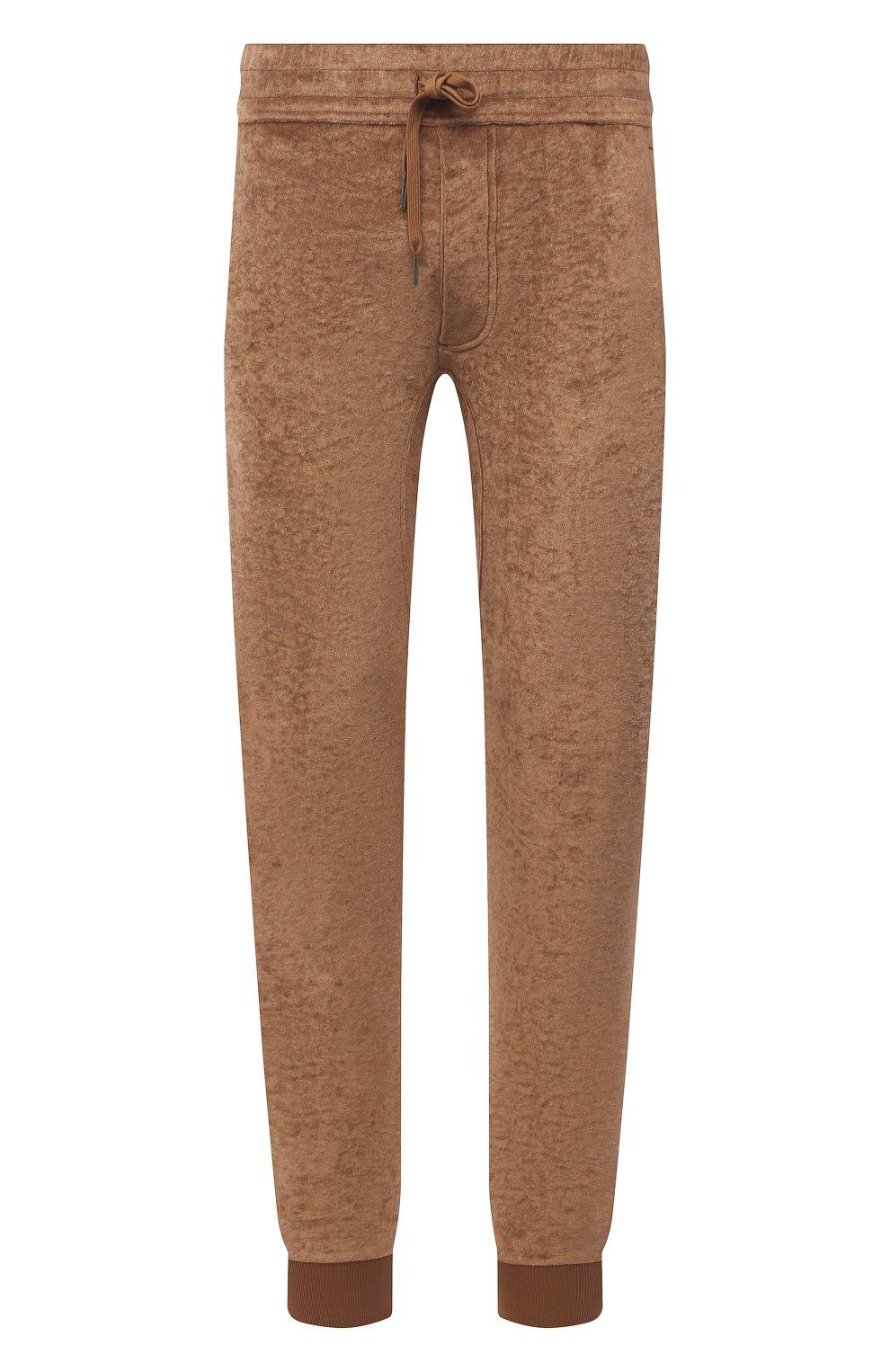 Мужские джоггеры TOM FORD коричневого цвета, арт. BW277/TFJ207   Фото 1